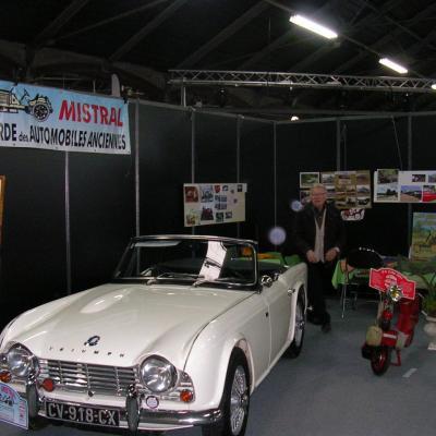 6ième Salon rétro  Course à Valence
